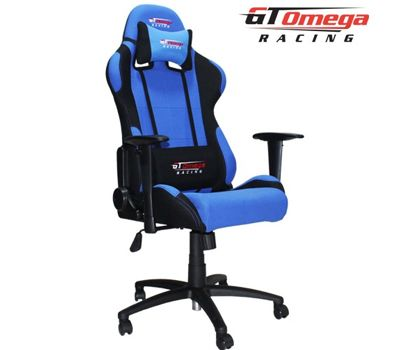 Kustom Pcs Gt Omega Pro Racing Office Chair Blue And