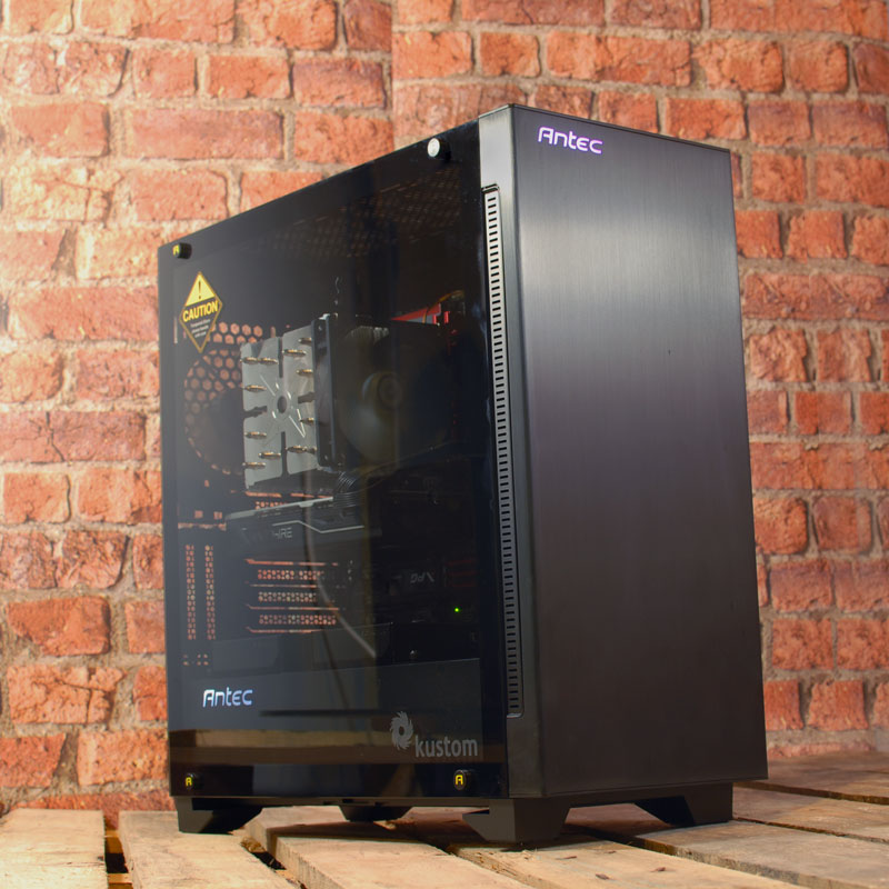 Kustom Luce i7-6800K, RX 580, SSD Refurbished Gaming / Editing PC