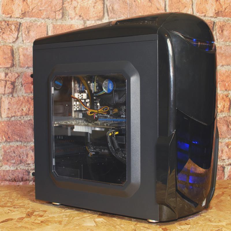 Kustom Nero i5-2500 RX550 SSD Refurbished Gaming PC