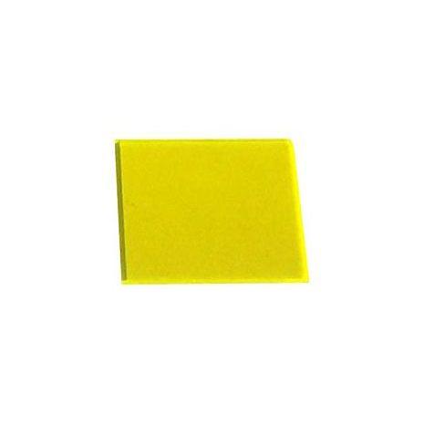 Perspex Fluroescent Solar Yellow 500x500x3