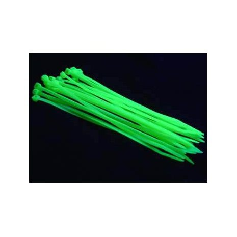55da5329e189 Kustom PCs - Cable Ties UV Green Pack of 10 Small