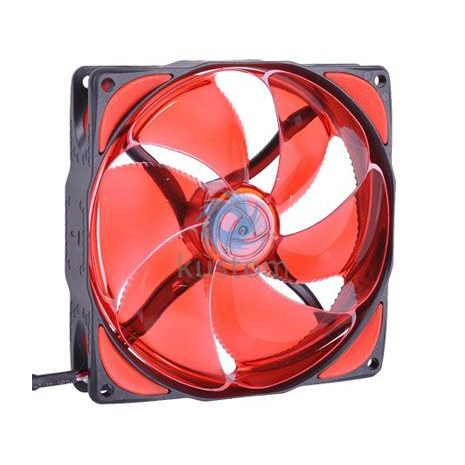 Phobya NB-eLoop 1600rpm Bionic 120mm Fan eLoop Red